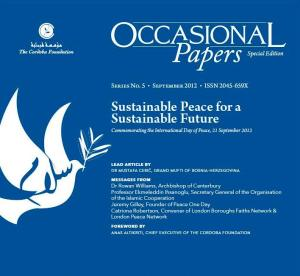 Sustainable Peace for a Sustainable Future - pic