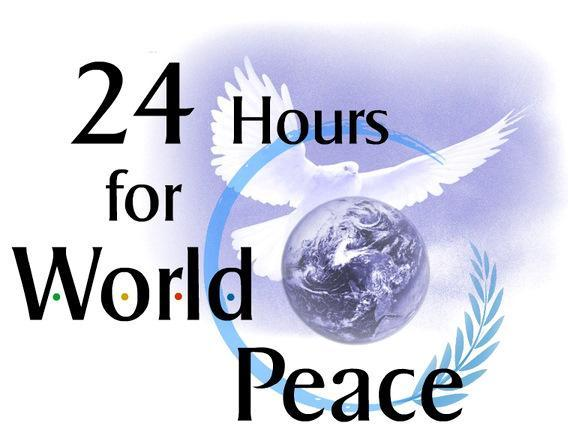 24 hours for world peace