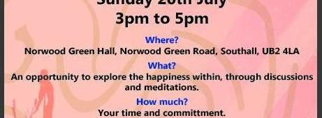 Happiness within – women's workshop 20 July