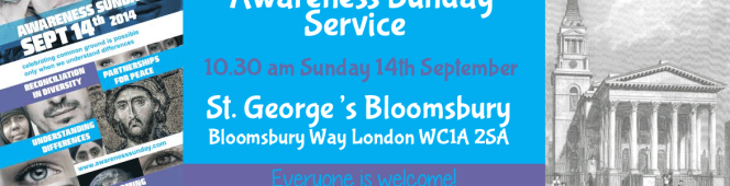 Awareness Sunday 14 September