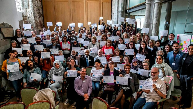 90 peace-builders gather in London!