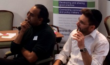 Malik Gul & Natan Levy at Conflict Resilience workshop