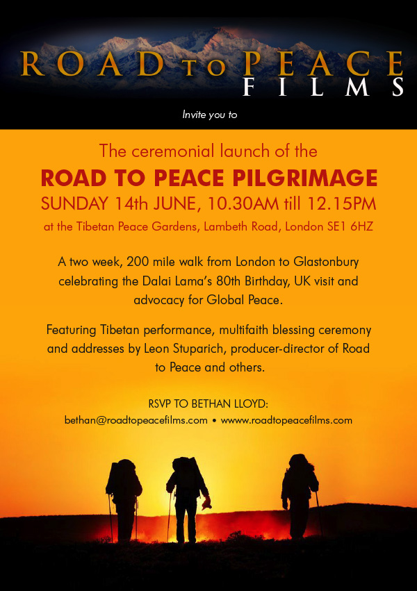 Peace Pilgrimage starts out!